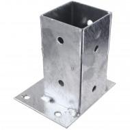 1 GAH Aufschraubhülse feuerverzinkt Mittelbefestigung für 70 mm