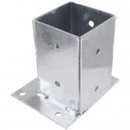 1 GAH Aufschraubhülse feuerverzinkt Mittelbefestigung für 90 mm
