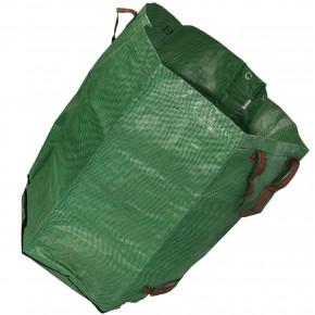 1 Abfallsack, 272 Liter, selbststehend, Trageschlaufe, 150g/qm, grün, PP-Gewebe