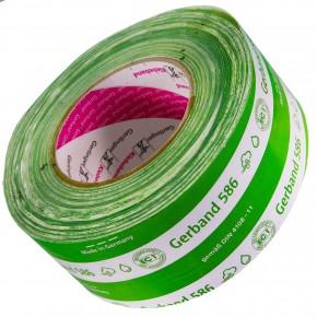 1 Rolle Gerband 586 hermetic,Dampfsperrklebeband-Anschlüße, grün, 50 mm, 25m