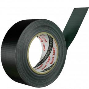 50m Rolle Panzerband / Duct Tape / Gaffa Tape - 48 mm breit - schwarz