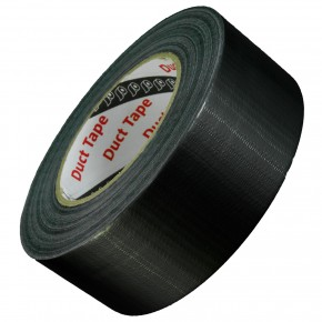 50m Rolle Panzerband - Duct Tape - Gaffa Tape - 48 mm breit - schwarz