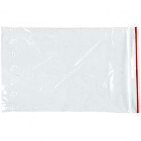 1000 LDPE - Druckverschlussbeutel 40 my, transparent, 80 x 120 mm