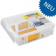 1 Allit Sortimentskasten EuroPlus Basic 13 - 2-4 - 4 Stege - 145x125x42 mm