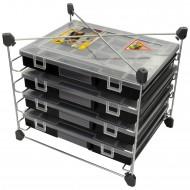 Allit EuroPlus Depot 37- Regal für Sortimentskästen