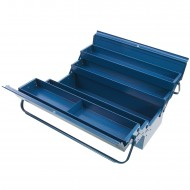 1 Allit Premium Metall-Werkzeugkasten - Mc Plus 5-57 - blau