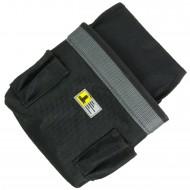 1 Allit Gürteltasche für Werkzeug, groß - McPlus Belt Carpenter - schw.-silber