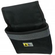 1 Allit Gürteltasche für Nägel - McPlus Belt Pouch - schwarz-silber