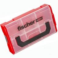 1 FISCHER FIXtainer Sortimentskasten 260 x 156 x 61 mm, modulare Innenaufteilung