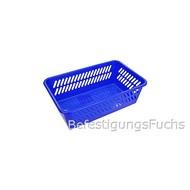 25 Kunststoffkorb Mini - 253x158x80 mm blau