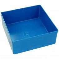 10 Boxen 108x108x45 mm für Stahlblech Sortimentskasten 440x330x100