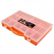 1 Sortimentskasten 275x185x45 11 Fächer orange