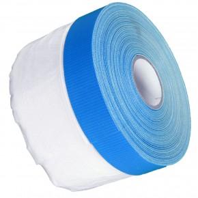 1 Rolle Gerband Abklebefolie, Folienvorhang, Gewebeband, blau, 10 my, 0,55 m x 20 m