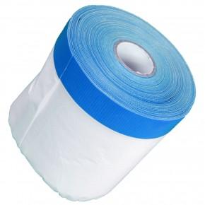 1 Rolle Gerband Abklebefolie, Folienvorhang, Gewebeband, blau, 10 my, 1,10 m x 20 m
