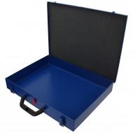 1 Stahlblech Sortimentskasten 440x330x66 ohne Facheinteilung leer
