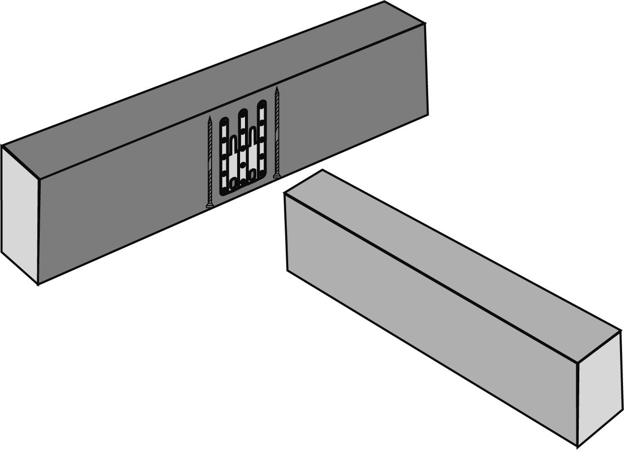 Querzugverstärkungen bei UBt-Verbindern