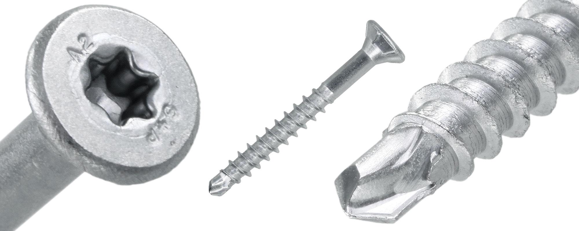 Holzbauschraube Super Drill Detailansicht