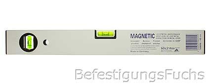 1 magnet wasserwaage leichtmetall eloxiert 400mm ebay. Black Bedroom Furniture Sets. Home Design Ideas