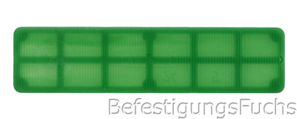 Glasklotz gruen