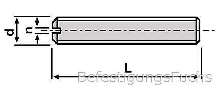 Skizze DIN 551