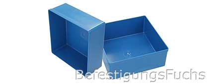 Kunststoffbox blau