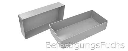 Kunststoffbox grau